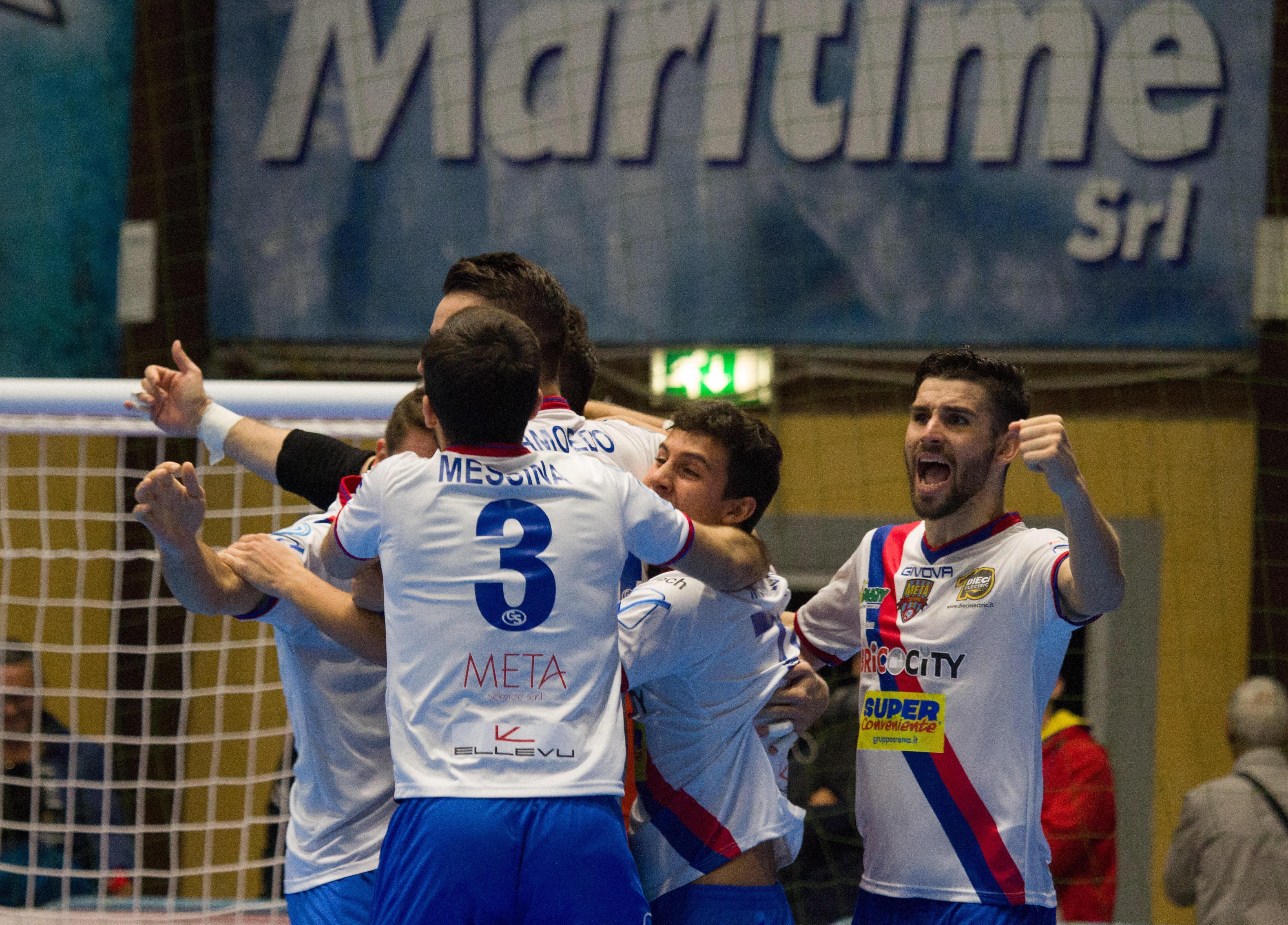 Maritime-Meta Catania Bricocity 0-1, decide Constantino.