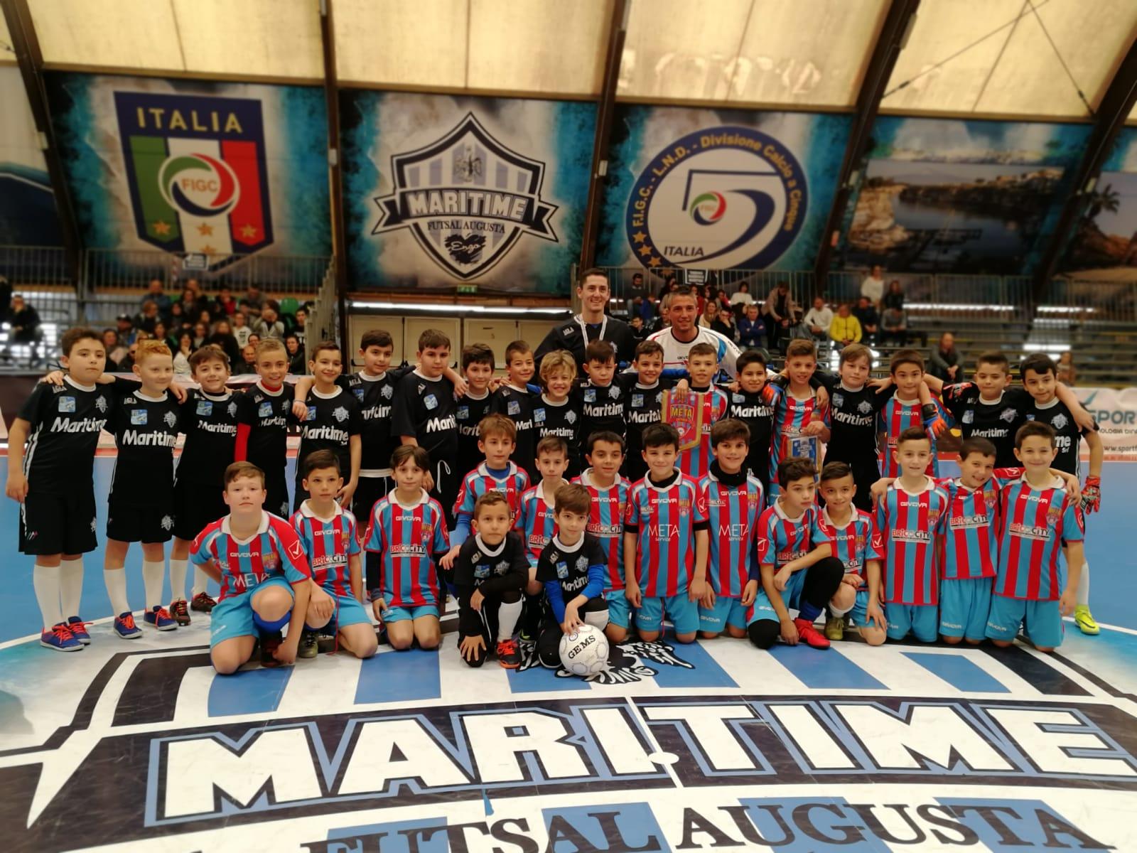 Grande giornata di sport tra Meta Catania e Maritime