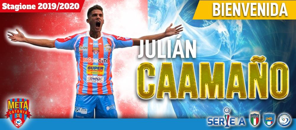 UFFICIALE: L'ARGENTINO JULIAN CAAMAÑO ALLA META CATANIA BRICOCITY.