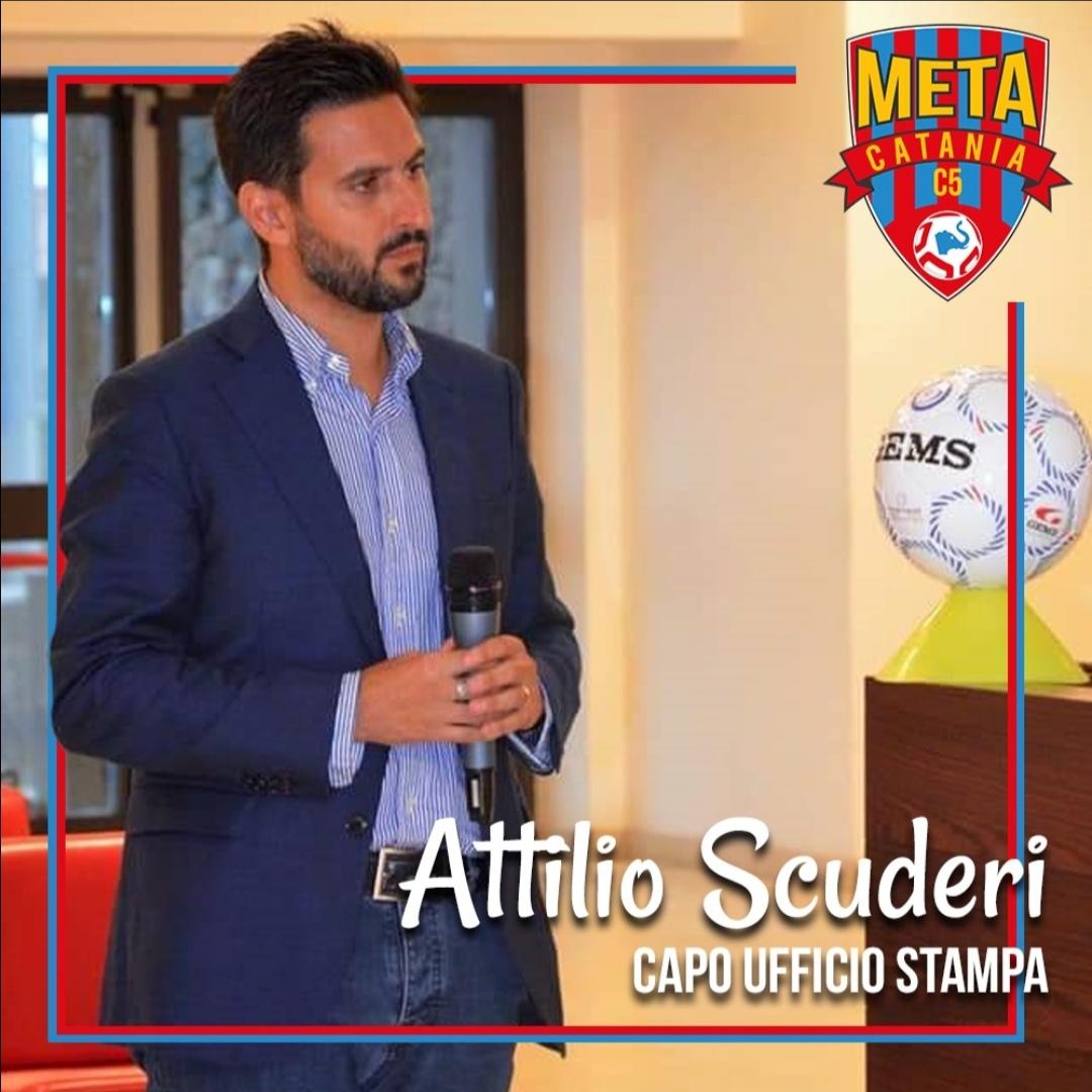 Ufficiale: Attilio Scuderi sara' ancora il Capo ufficio stampa rossazzurro