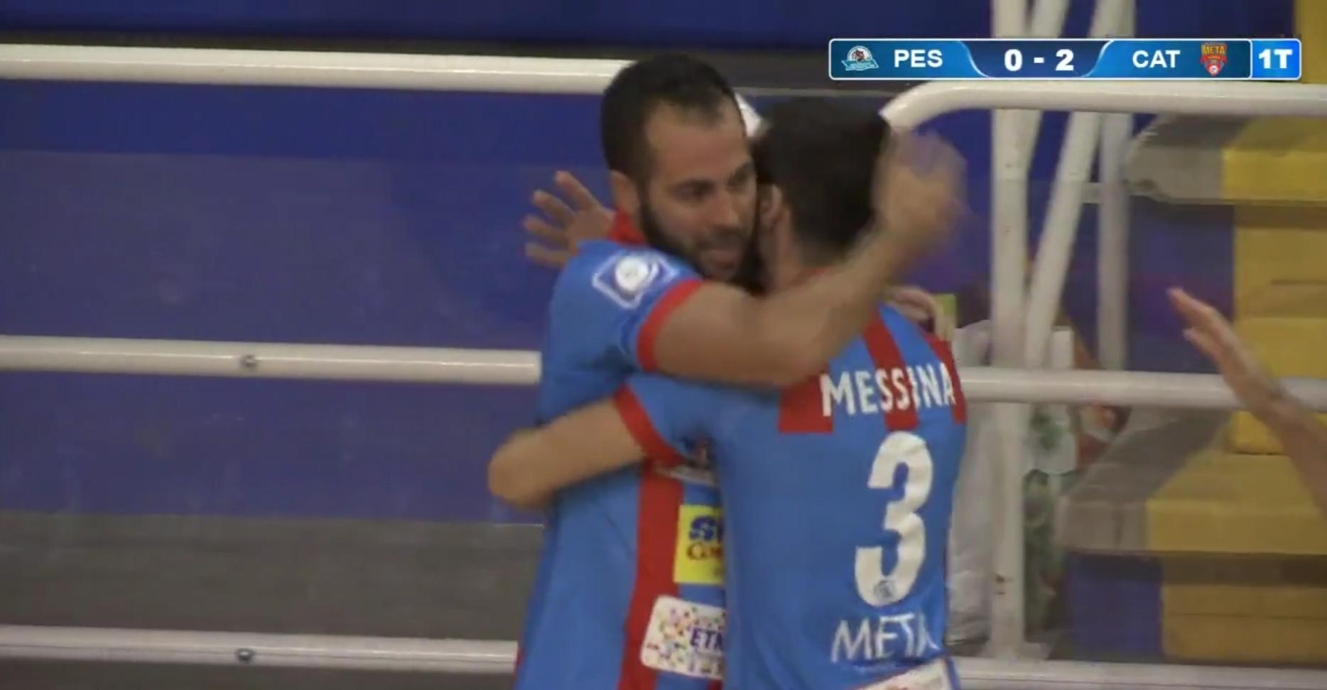 Tifone Etneo, Colormax Pescara-Meta Catania Bricocity 3-10, il tabellino.