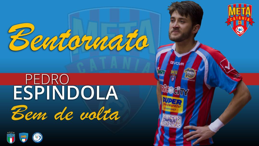 Ufficiale: Pedro Espindola ritorna alla Meta Catania Bricocity
