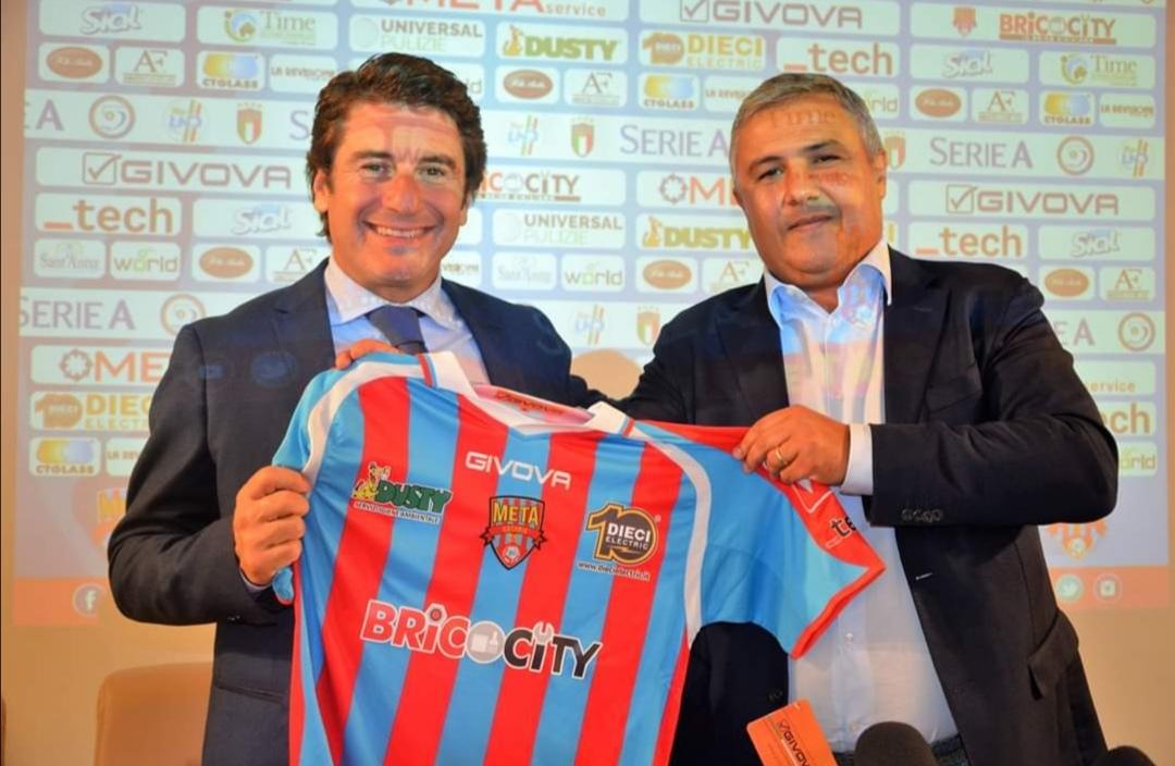 """Il presidente Musumeci: """"pronti a costruire una squadra forte e competitiva. Primo tassello coach Samperi"""""""