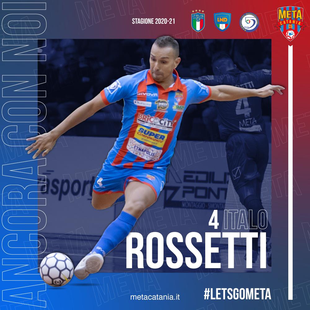 Ufficiale: forza e sostanza, Italo Rossetti ancora con noi