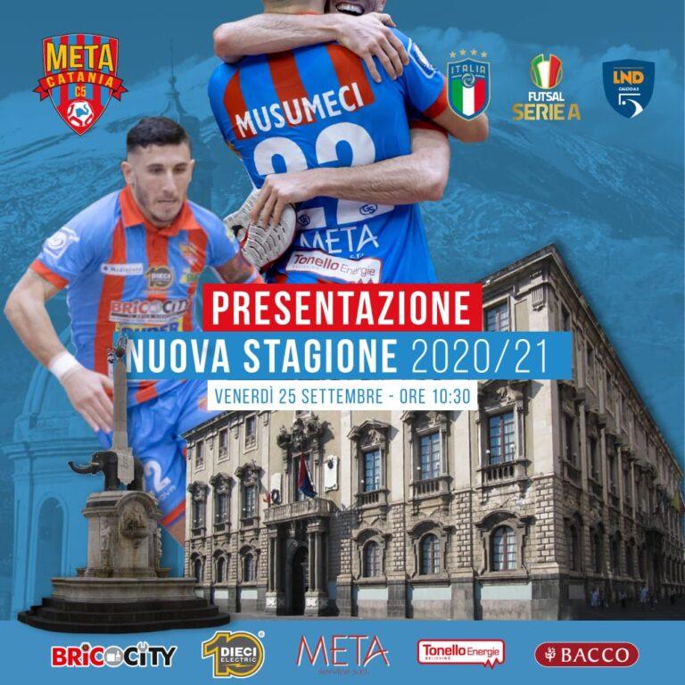 Venerdì 25 settembre la Meta Catania Bricocity presenta la nuova stagione.