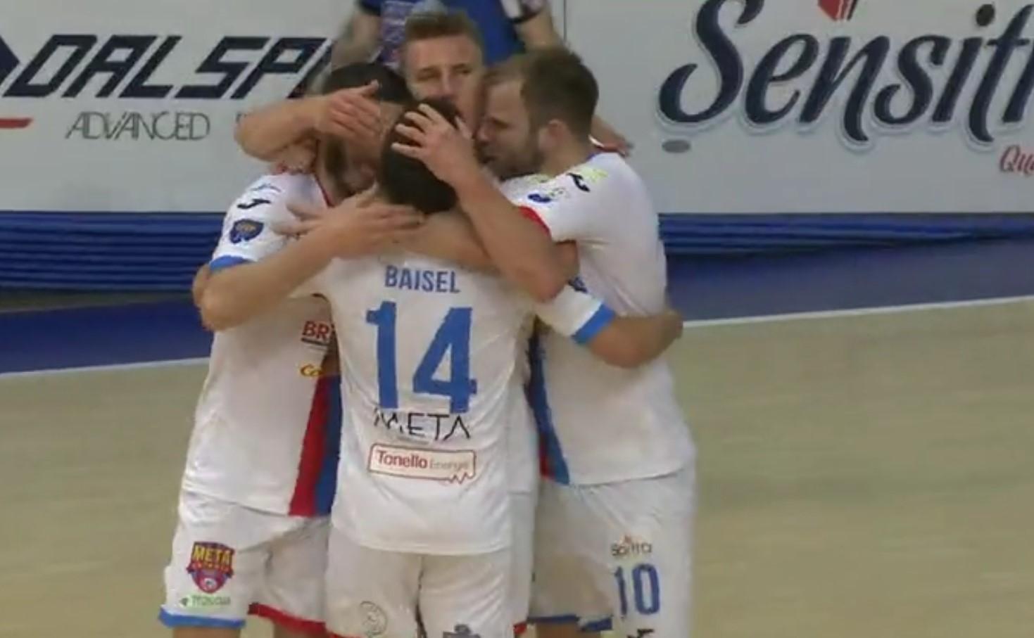 Playoff Scudetto, gara 3: Impresa Meta Catania Bricocity, la storia è scritta, si vola in semifinale.