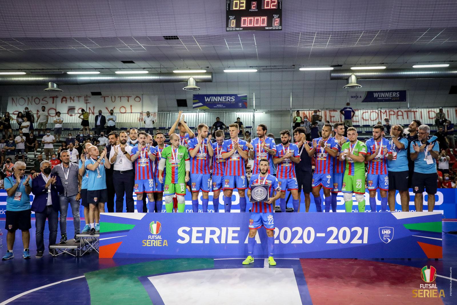 Grazie Ragazzi! Meta Catania Bricocity vice Campione d'Italia