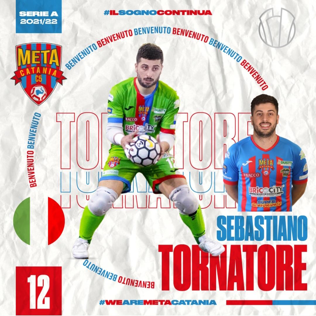 Ufficiale: Seby Tornatore torna alla Meta Catania Bricocity