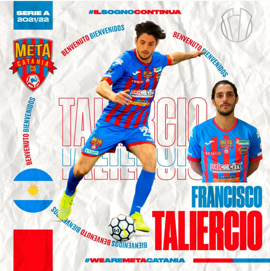 Ufficiale: il difensore argentino Taliercio è rossazzurro