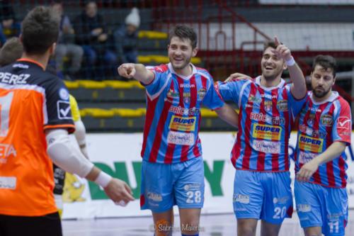 Meta Catania Real Rieti (8)